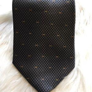 Palatina Accessories - Palatina Gray Polka Dot Men's Silk Tie